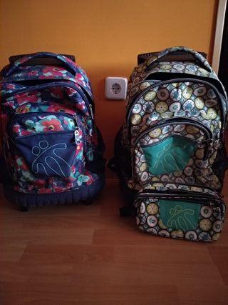 mochilas con ruedas nuevas 50 euros las dos