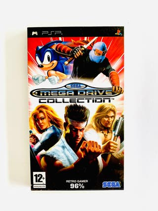 MEGA DRIVE COLLECTION - psp