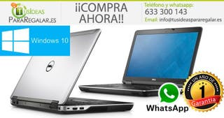 Portátil dell E6440, i5/256Gb SSD/Cam/Gráfica/Win1