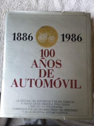 Libro 100 años de Automóvil por Ruiz 1985