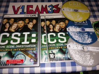 Csi Crime Scene investigation Oscuras intenciones
