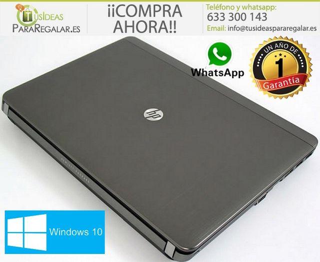 Portátil Hp ProBook 4340s, i5/HDMI/500Gb/Cam/Win10