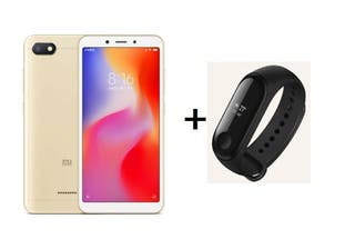 XIAOMI REDMI 6A 32GB ORO REGALO XIAOMI MI BAND 3