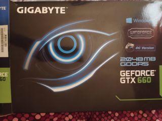 Tarjeta gráfica Gtx 660 oc 2GB GDDR5
