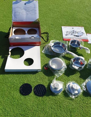 Stainless Steel Cookware Set 16 Pcs Thermo Control