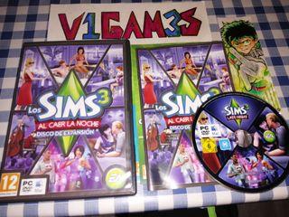Los Sims Al caer la noche Disco de expansión Pc