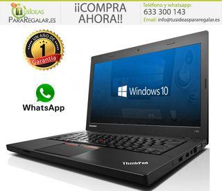 Portátil Lenovo L450, i5/240Gb SSD/8Gb Ram/FullHd/