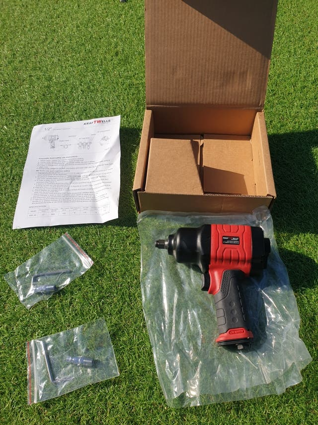 impact wrench 1200nm ½ drive Kraftwelle Germany