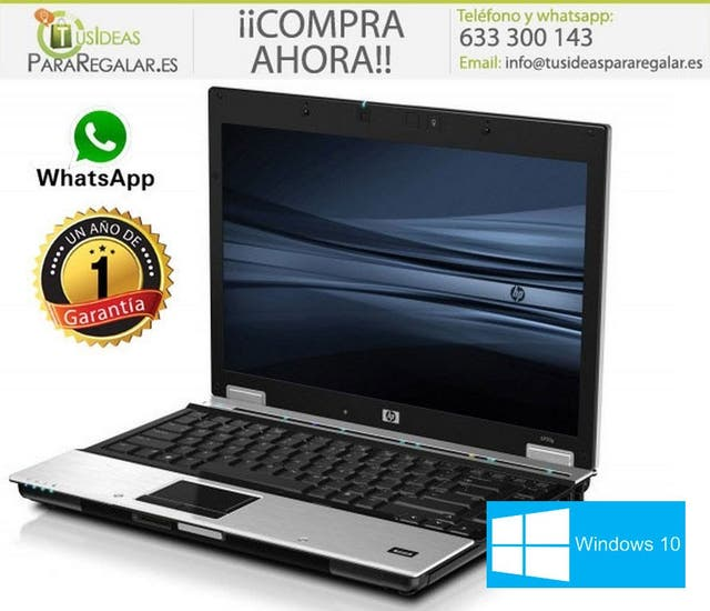 Portátil HP EliteBook 8440P, i7/8Gb Ram/Web Cam/Wi