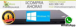 Portátil Lenovo X201, i5/Wifi/Cam/Win10 Gratis