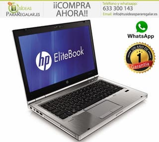 Portátil Hp EliteBook 8460p, i5/Usb 3,0/Cam/500Gb/