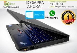 Portátil Lenovo X230, i5/8Gb Ram/240Gb SSD/Win10