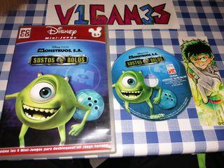 Monstruos, s.a. Sustos y bolos Disney Pixar pc