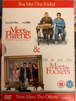 Los padres de ella los padres de él. DVD ingles