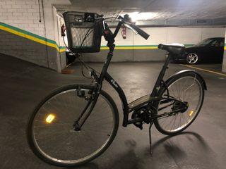 Bicicleta de ciudad.