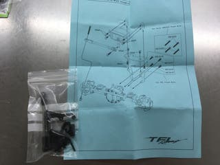 Kit para montar el servo en SCX10 2