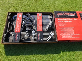 Kraftwelle Spanners and Ring Spanner Set 50 Pieces