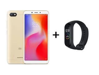 XIAOMI REDMI 6A 32GB ORO REGALO XIAOMI MI BAND 4