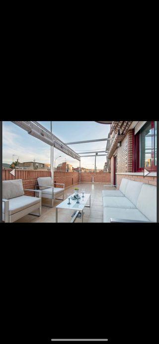 Conjunto de muebles jardín y terraza