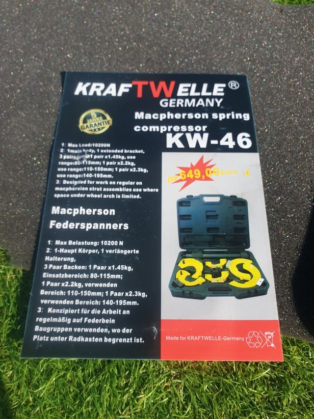 Extra power coil spring compressor Kraftwelle