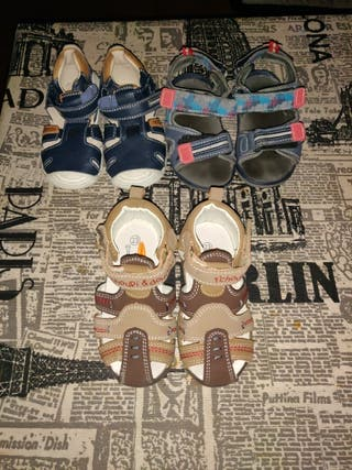 Sandalias zapatos niño