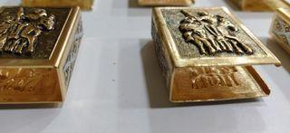 Cerillas Oro Toledo fundas Cerrilleros Mechero