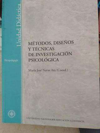 métodos y técnicas de investigación psicológica