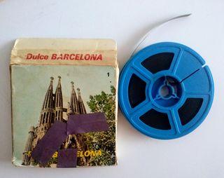 Película super 8mm dulce barcelona sonora y a colo