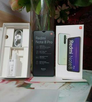 Xiaomi redmi note 8 pro 6gb/128gb Nuevo