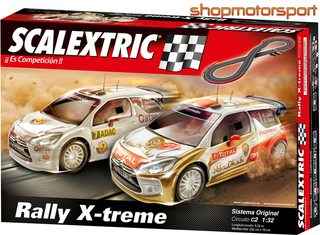 CIRCUITO SCALEXTRIC C2 RALLY X-TREME A10162X500