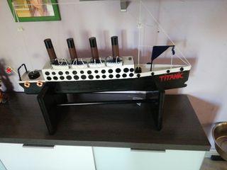 maqueta titanic 80 cm largo