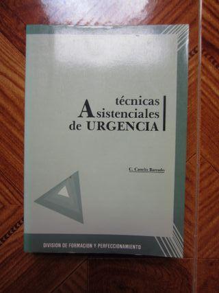 LOTE DOS LIBROS. TECNICAS ASISTENCIALES URGENCIA