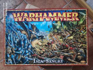 Isla de sangre warhammer altos elfos skaven