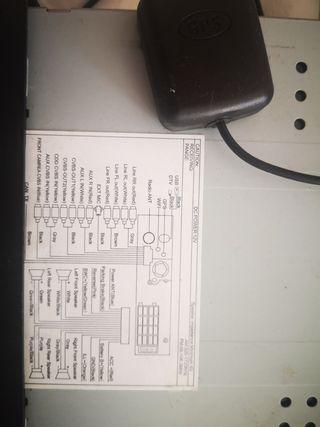 reproductor DVD, radio cd