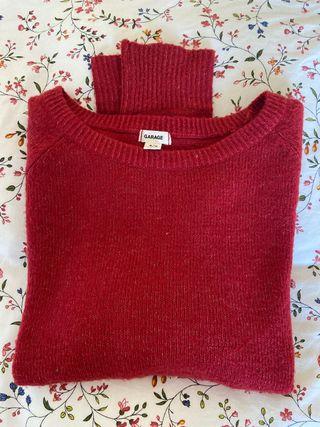 Jersey rojo súper mono y cómodo