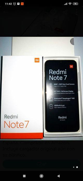 redmi note 7 4ram 64g memoria