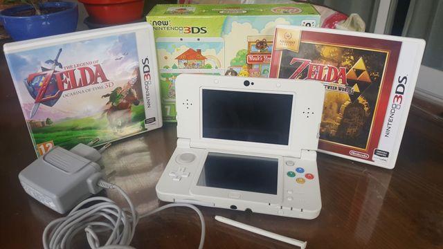 NEW NINTENDO 3DS + animal crossing