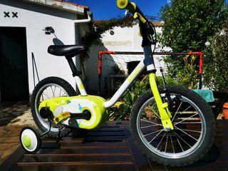 bicicleta 3 - 5 años