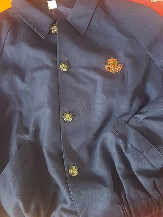 chaqueta correos vintage