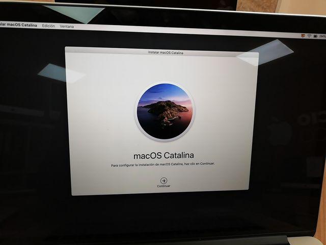 Macbook 15 i7 Catalina Retina SSD