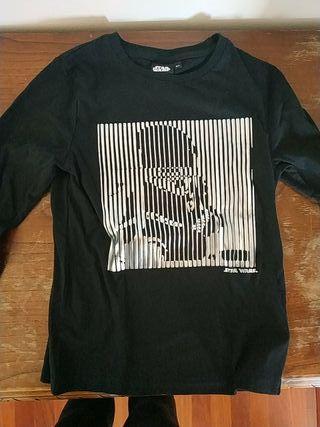 camiseta stars wars talla 8