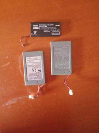baterías mando PS4 y joycon switch