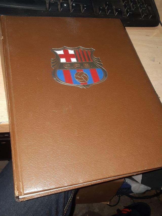 Libro historia del C.F. Barcelona