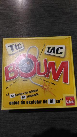Juego tic tac boom
