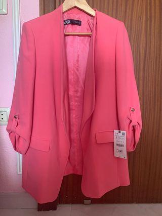 Vendo blazer rosa Zara
