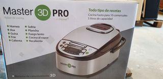 robot de cocina master 3d pro