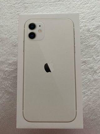 Caja iphone 11 blanco