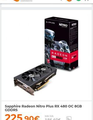 Sapphire rx480 nitro plus