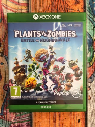 Plants and zombies battle for neighborville xbox