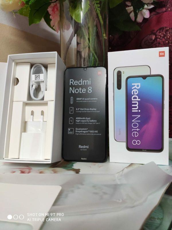 Precintado!! 64gb/48mpxl/Xiaomi redmi note 8/2019